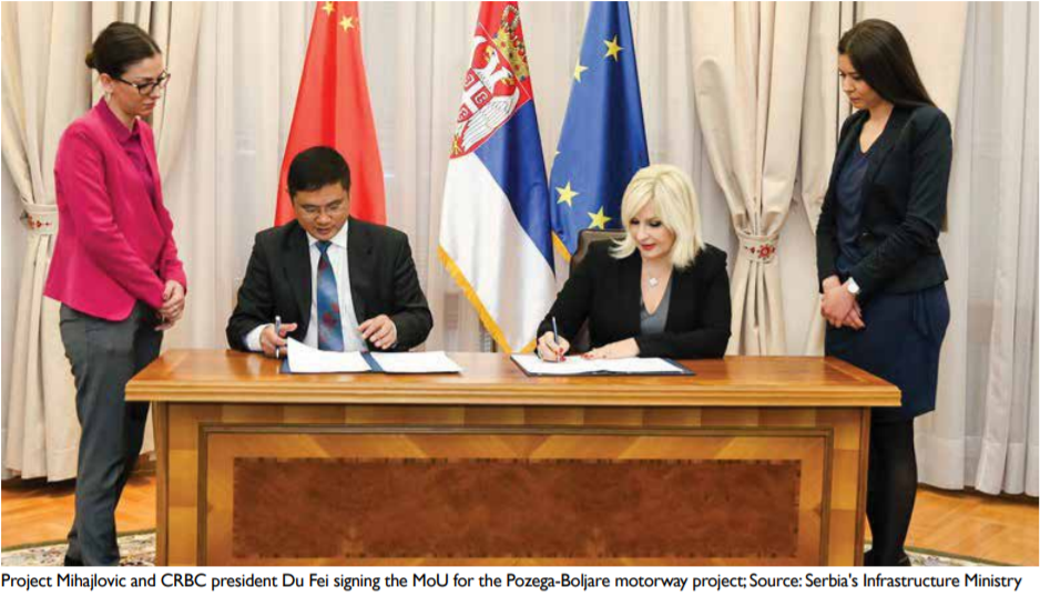 Pozega-Boljare motorway project